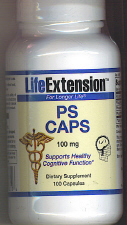 PS Caps -  Phosphatidyl Serine