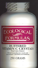 Buffered Vitamin C Crystals