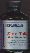 Zinc Tally Liquid