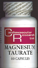Magnesium Taurate (60 caps)