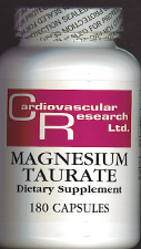 Magnesium Taurate (180 caps)