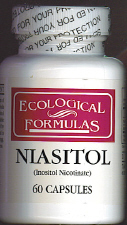 Niasitol Non Flush Niacin, Inositol Nicotinate