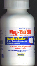 Mag-Tab SR - Sustained Release Magnesium