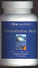 Vitamin B5, Pantothenic Acid