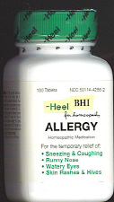 Allergy - General Allergy Relief