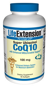 Coenzyme Q10 - Ubiquinol with Enhanced Mitochondrial Support