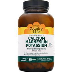 Calcium Magnesium Potassium (replaces Mynax)