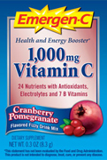 Emergen-C, Cranberry/Pomegranate