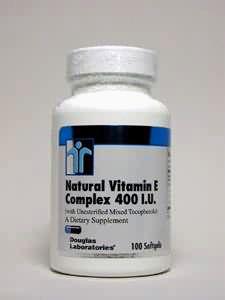 Vitamin E, Natural Vitamin E Complex