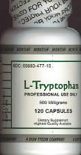 L-Tryptophan (120 caps)