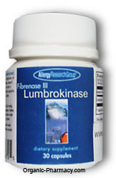 Lumbrokinase, Fibrenase III THIS PRODUCT IS UNAVAILABLE!