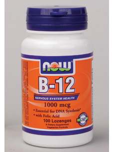 B12 w/ folic acid, Sublingual