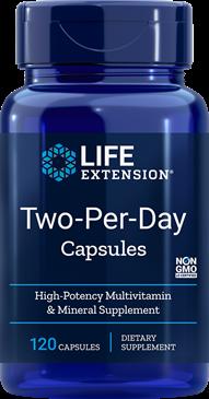 Life Extension® Two-Per-Day Multi-Vitamin