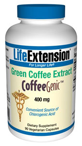 Green Coffee Extract,  CoffeeGenic®