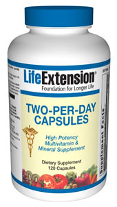 Life Extension® Two-Per-Day Multi-Vitamin