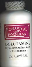 L-Glutamine  250 caps