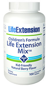 Life Extension Children's Chewable Vitamins