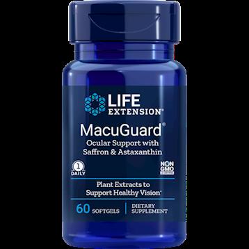 MacuGuard Ocular Support w/Saffron & Astaxanthin