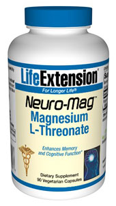 Magnesium Threonate, Neuro-Mag®