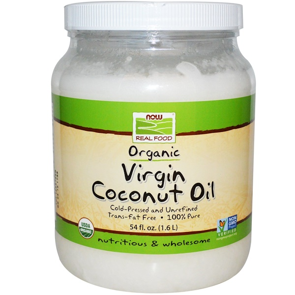 Coconut Oil, Organic  Virgin Coconut Oil 54 oz