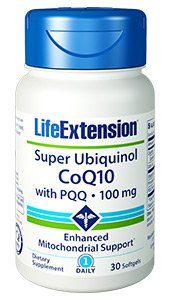 CoQ10, Super Ubiquinol CoQ10 with BioPQQ®