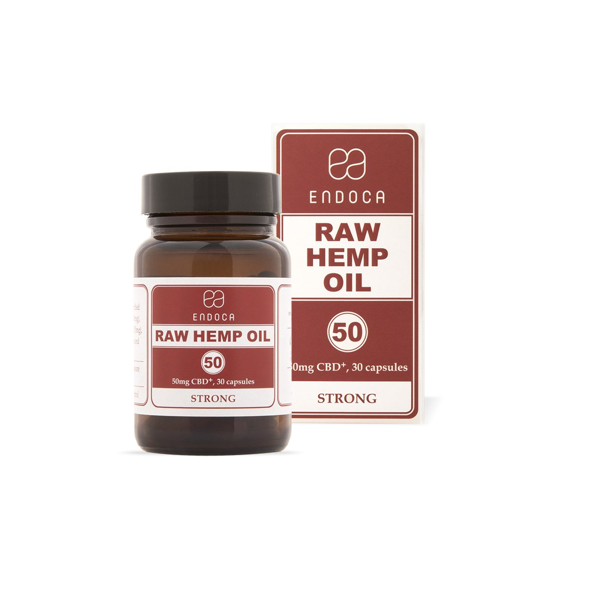 Raw Hemp Oil Capsules